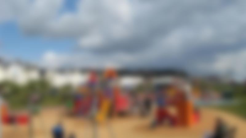 Outdoor play area at The Den Teignmouth