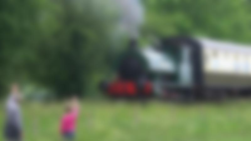 Steam Train in Cholsey and Wallingford Railway
