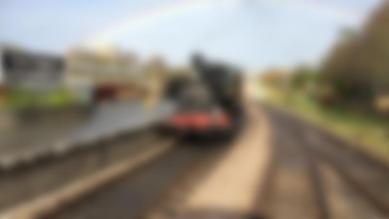 Steam train at South Devon Railway in Buchfastleigh