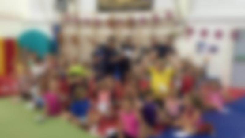 Kids at Northampton Trampoline Centre