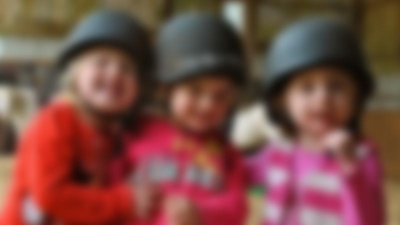 Girls at Country Treks Equestrian Centre in Kiddermister