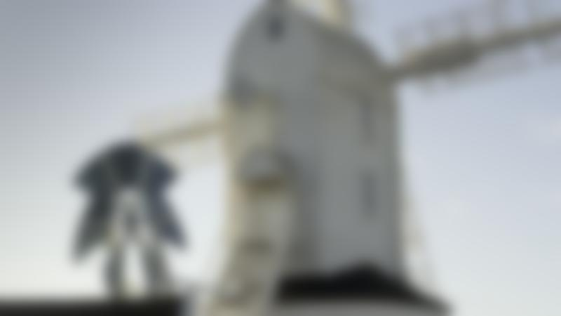 Windmill at Saxtead Green Post Mill