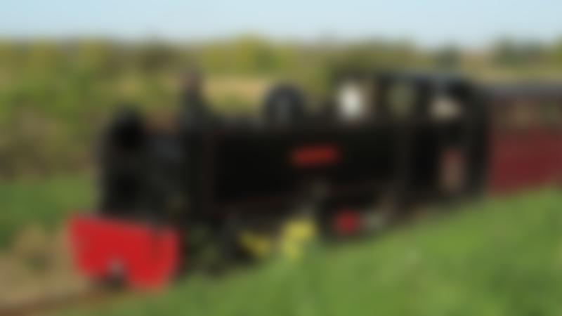 Train at Bure Valley Railway in Aylsham