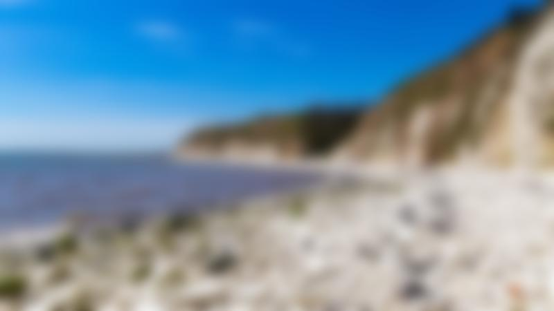 Cliff at Danes Dyke Beach in Bridlington