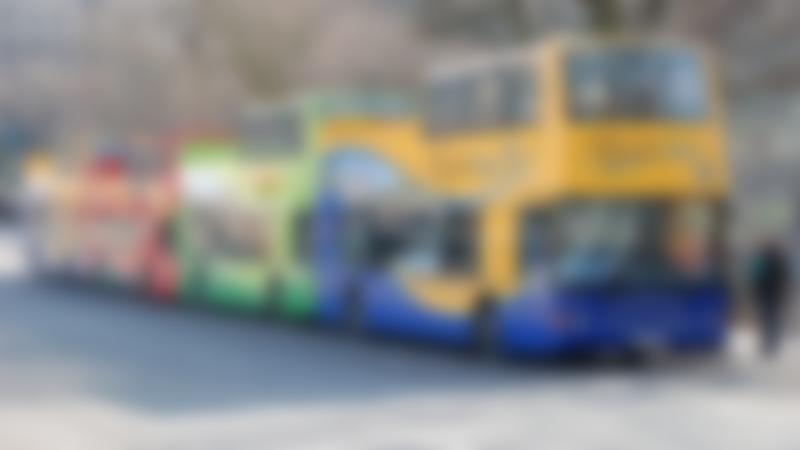 City Sightseeing Edinburgh buses
