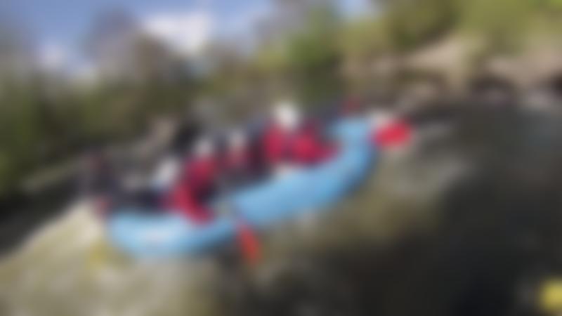People river rafting at Rapid Horizons Llangollen