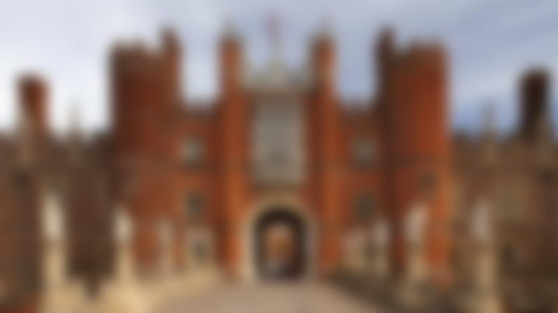 Entrance to Hampton Court Palace in East Molesey