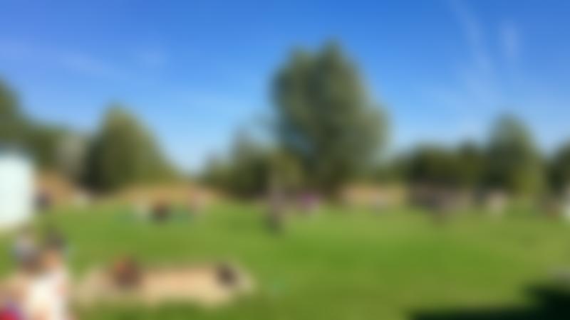 Outdoor play area at Tattershall Farm Park