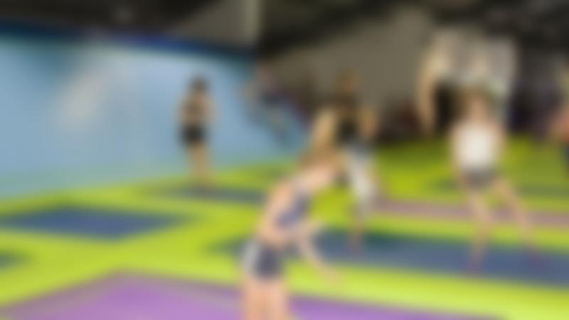 Kids jumping at Rebound Ashby Trampoline Park in Ashby-de-la-Zouch