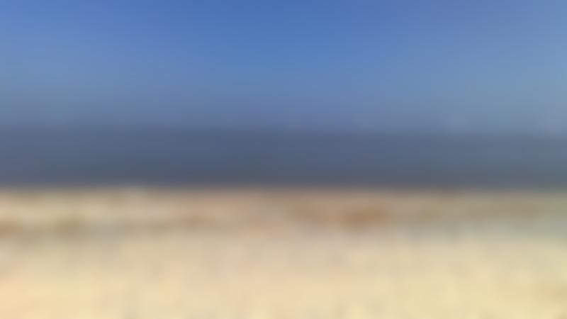 A view of the sea from Great Yarmouth North Beach, Great Yarmouth