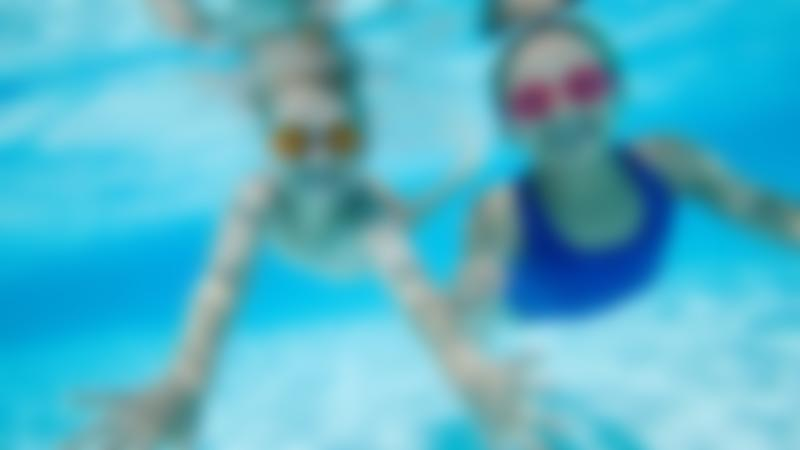 Kids swimming at Five Rivers Leisure Centre in Salisbury