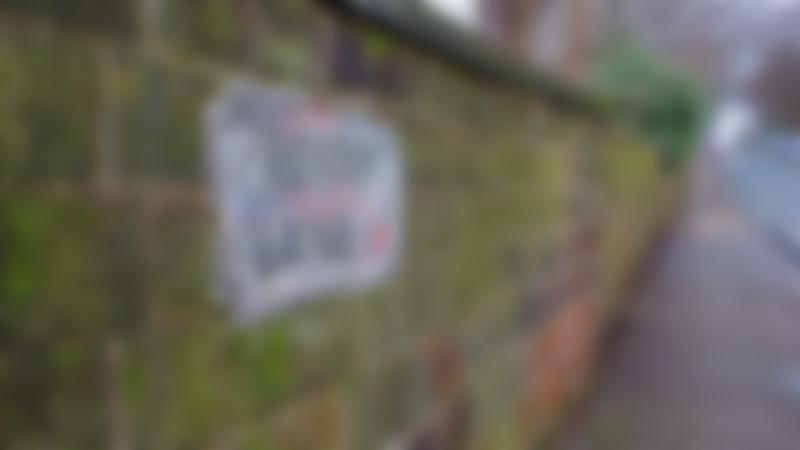 Penny Lane street sign at Magical Mystery Tour in Liverpool