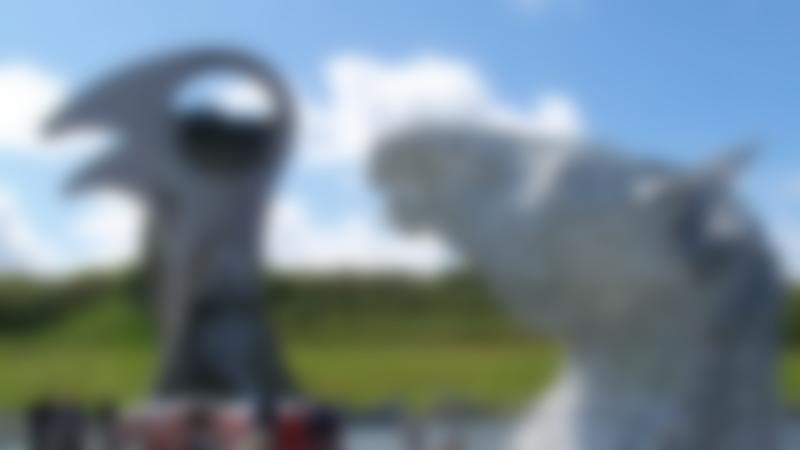Sculptures at Outdoor Trax in Kilsyth
