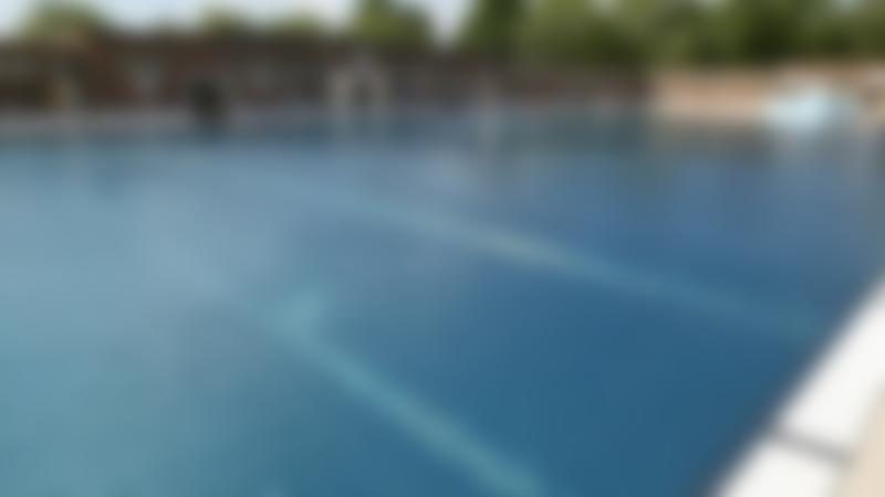 Outdoor swimming pool at Parliament Hill Lido in Hampstead