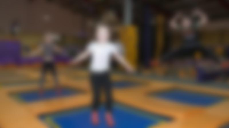 Kids jumping on trampolines at i-Jump Trampoline Park in Mansfield Woodhouse