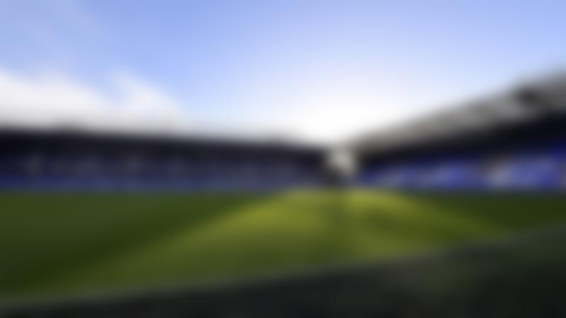 Football stadium at Everton Stadium Tour in Liverpool