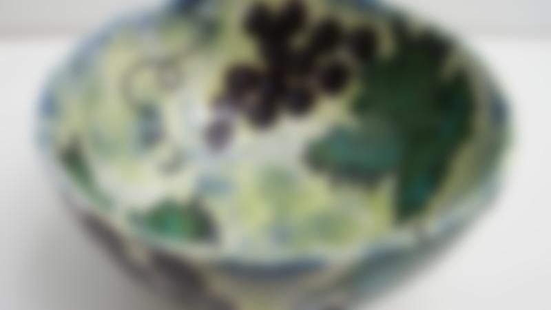 Painted bowl at This Art of Mine Studio in Maidstone