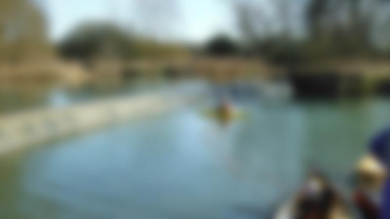 Woman kayaking at Adventure Dolphin Reading