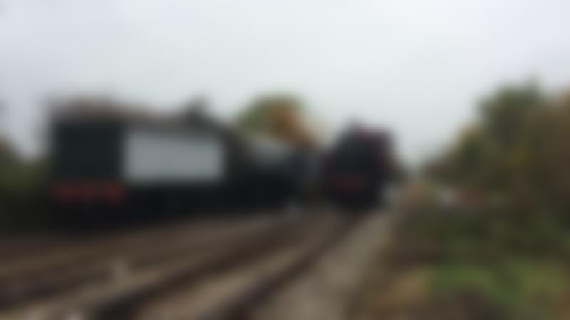 Trains at Swindon and Cricklade Steam Railway