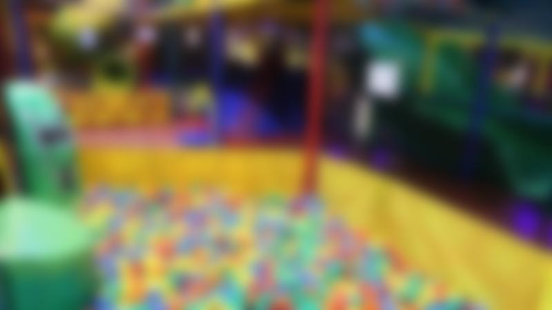 Ball pit at Go Bananas Indoor Softplay Centre in Stroud