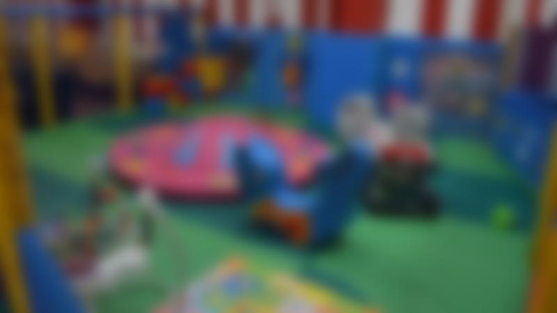 Toddler soft play area at Big Tops Indoor Playcentre in Sheffield