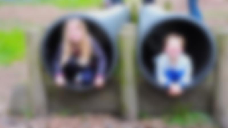 Kids in playground at Umberslade Adventure in Hockley Heath