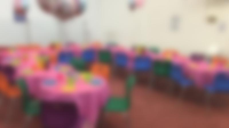 Party area at Kiddy Chaos Burnley