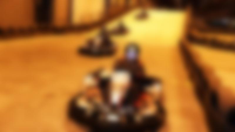 Kids racing at Teamsport Indoor Karting Newcastle