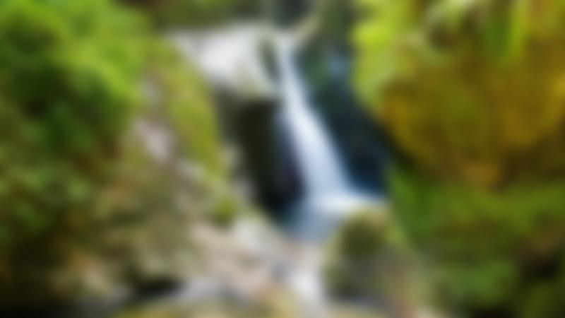 Waterfall at Glen Maye in Peel