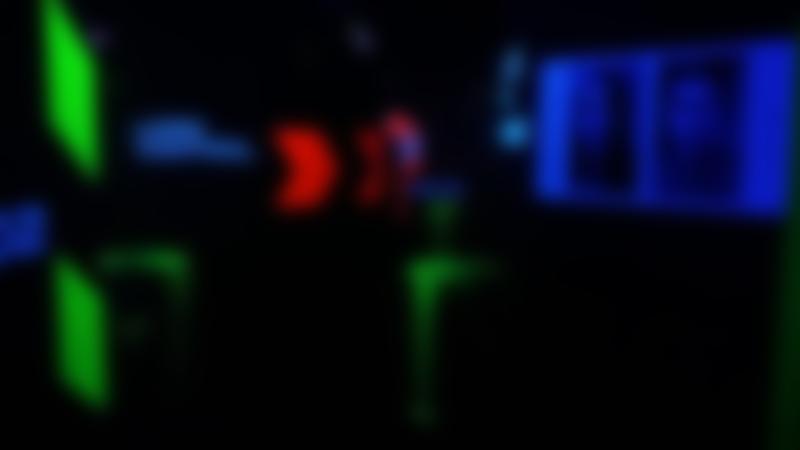 Battle arena in Laser Quest Stoke