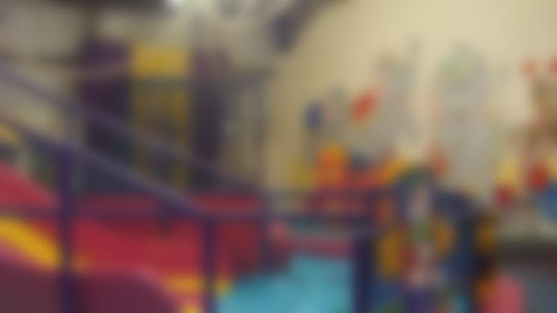 Indoor soft play frame at Clown Around in Chorley