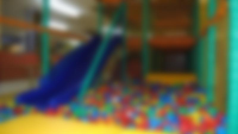 Soft play ball pit at Rascalz Soft Play Centre in Wirral