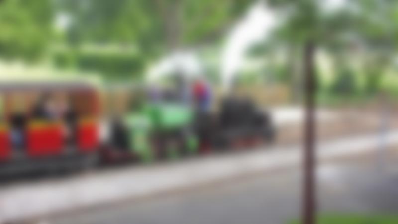 Passengers on train at Leighton Buzzard Railway