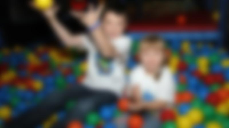 Kids in ball pit at Fun Works Play Centre in Glengormley