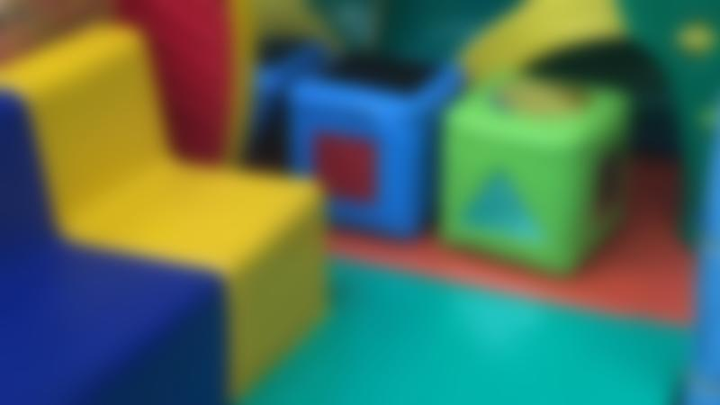 Toddler play area at DJ's Jungle Adventure Soft Play Centre in St Albans