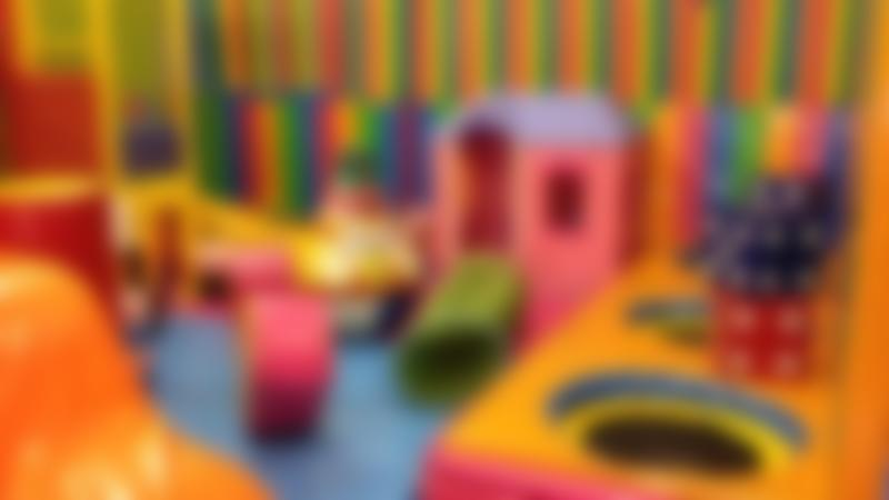 Toddler soft play area at Clown Around Indoor Play Centre in Edinburgh