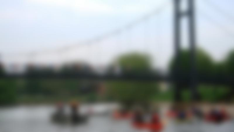 People on canoes at Haven Banks Outdoor Education Centre in Exeter