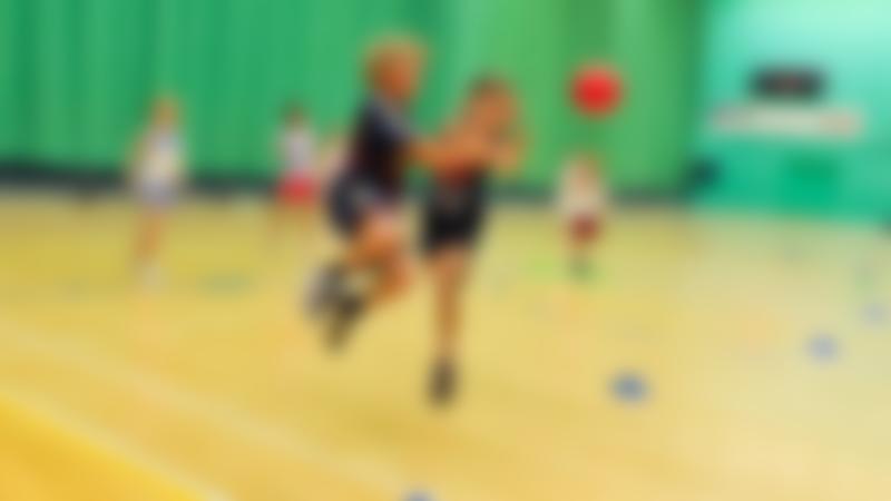 Kids playing netball at Hertfordshire Sports Village in Hatfield