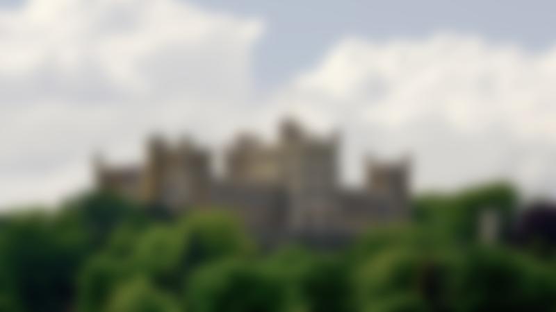 Outside view of Belvoir Castle in Grantham