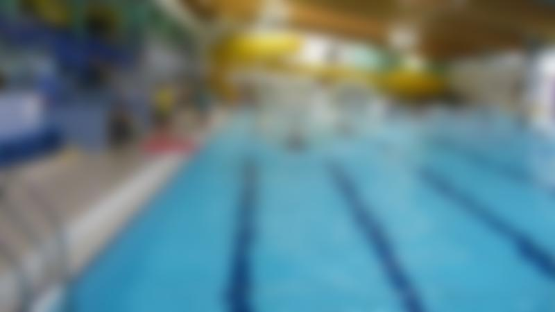 Swimming pool and slide at Meridian Leisure Centre in Louth