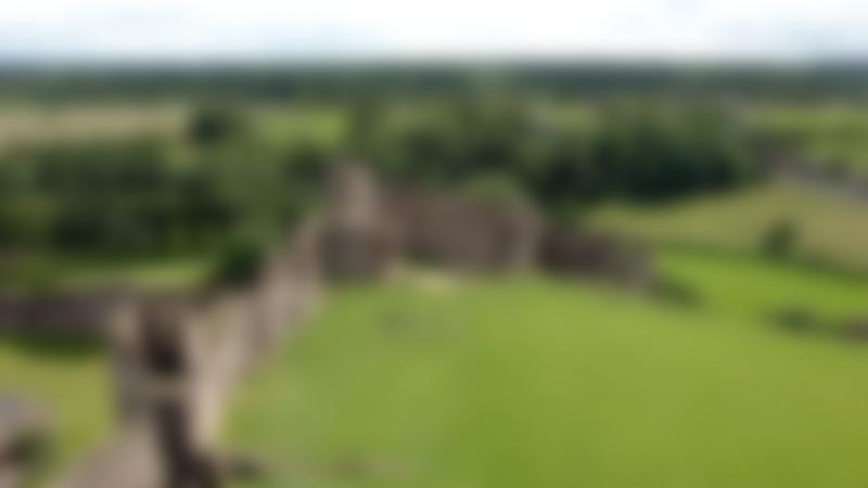 Outside view of Richmond Castle