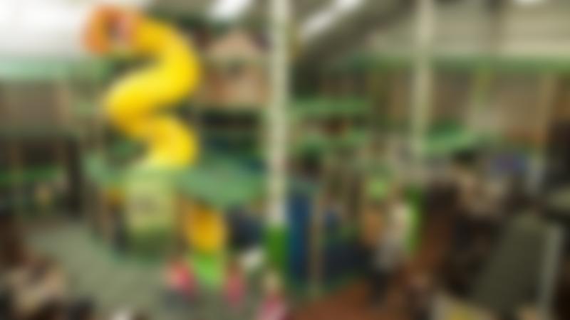 Indoor soft play frame at The Jungle Skelmersdale