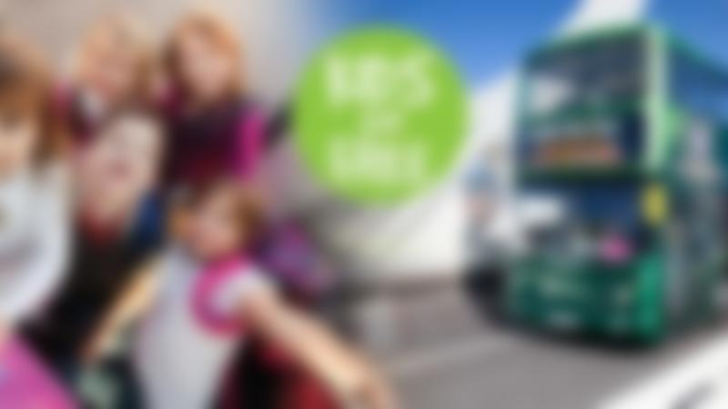 Kids travel free with Dublin Bus Tour