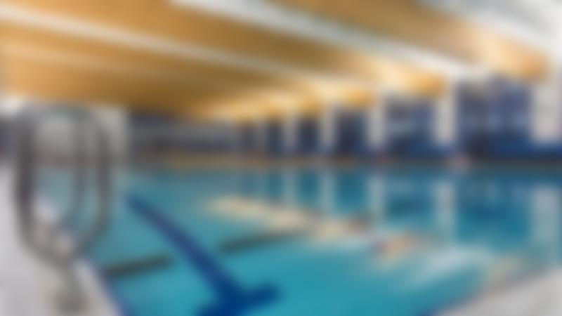 Indoor swimming pool at Queens Park Sports Centre in Cheserfield