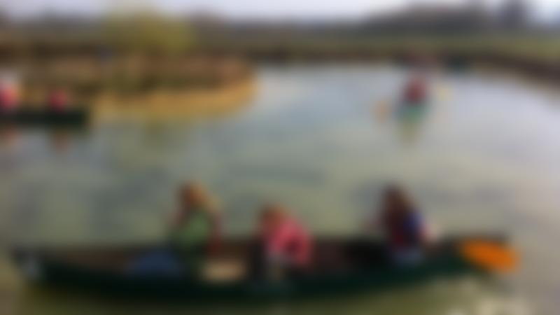 People canoeing at Cattle Country Adventure Park in Berkeley