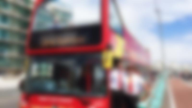 Drivers of City Sightseeing Brighton Hop on Hop off Tour bus