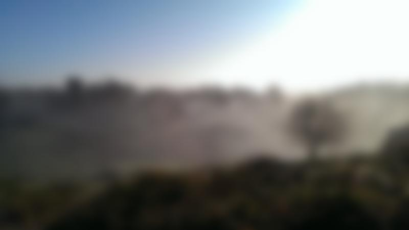 Mist at Brimham Rocks in Harrogate