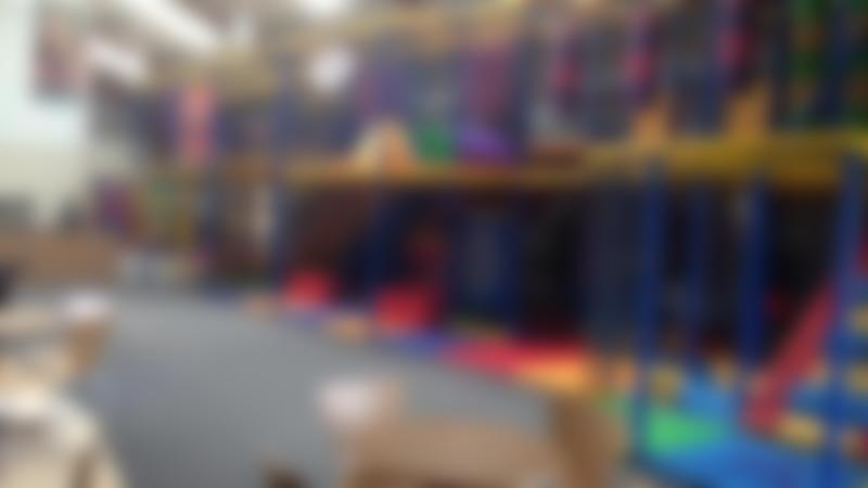 Indoor soft play frame at The Play Factory Louth