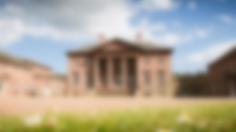 Outside view of Paxton House in Berwick upon Tweed