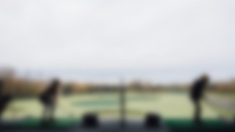 Kids on golf range in TopGolf Watford